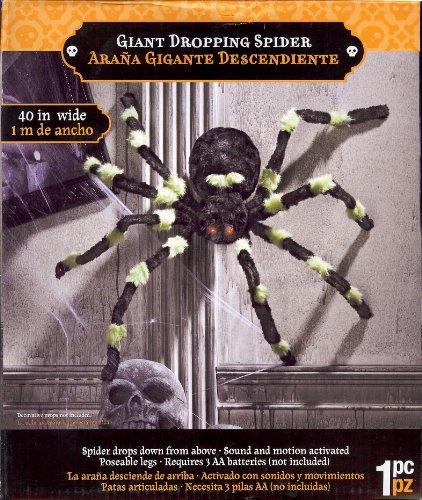 Gemmy Dropping Spider Decoration Standard ()