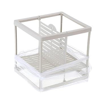 Colgante red incubadora de cría de peces alevines bebé peces criadero aislamiento caja accesorio de acuario