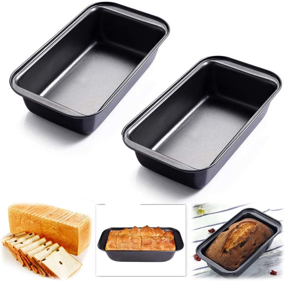 Rectangle Bread Cake Mold Nonstick Aluminum Alloy Large Loaf Toast Kitchen Tool