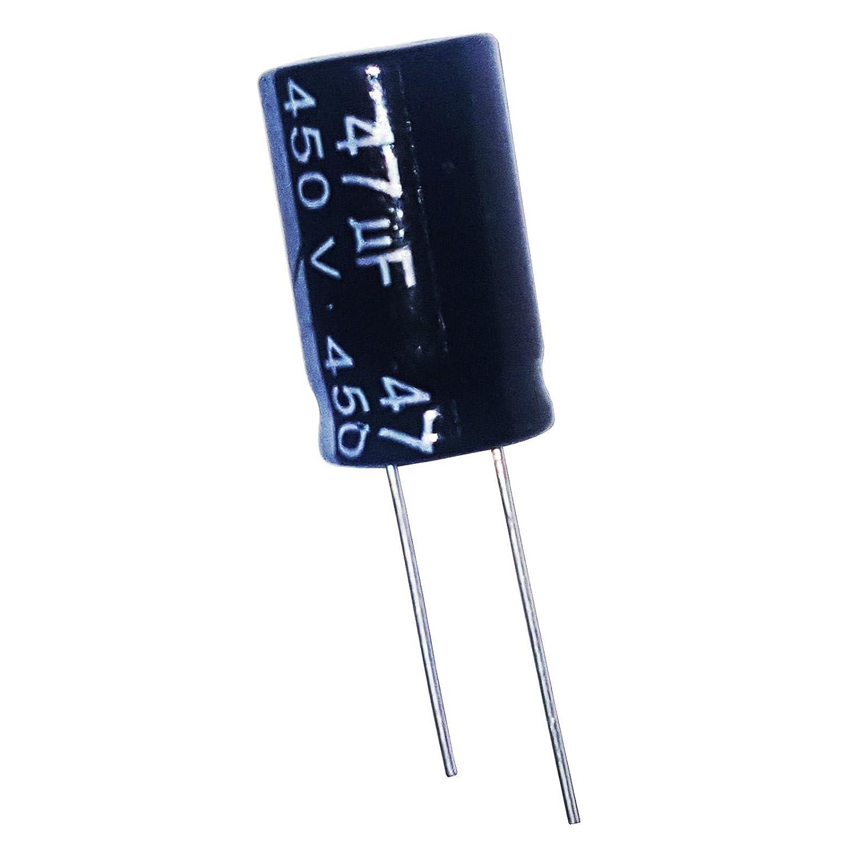 2 x 47uF 450 V elektrolytisch Radial Kondensator 105 C Unbranded/Generic