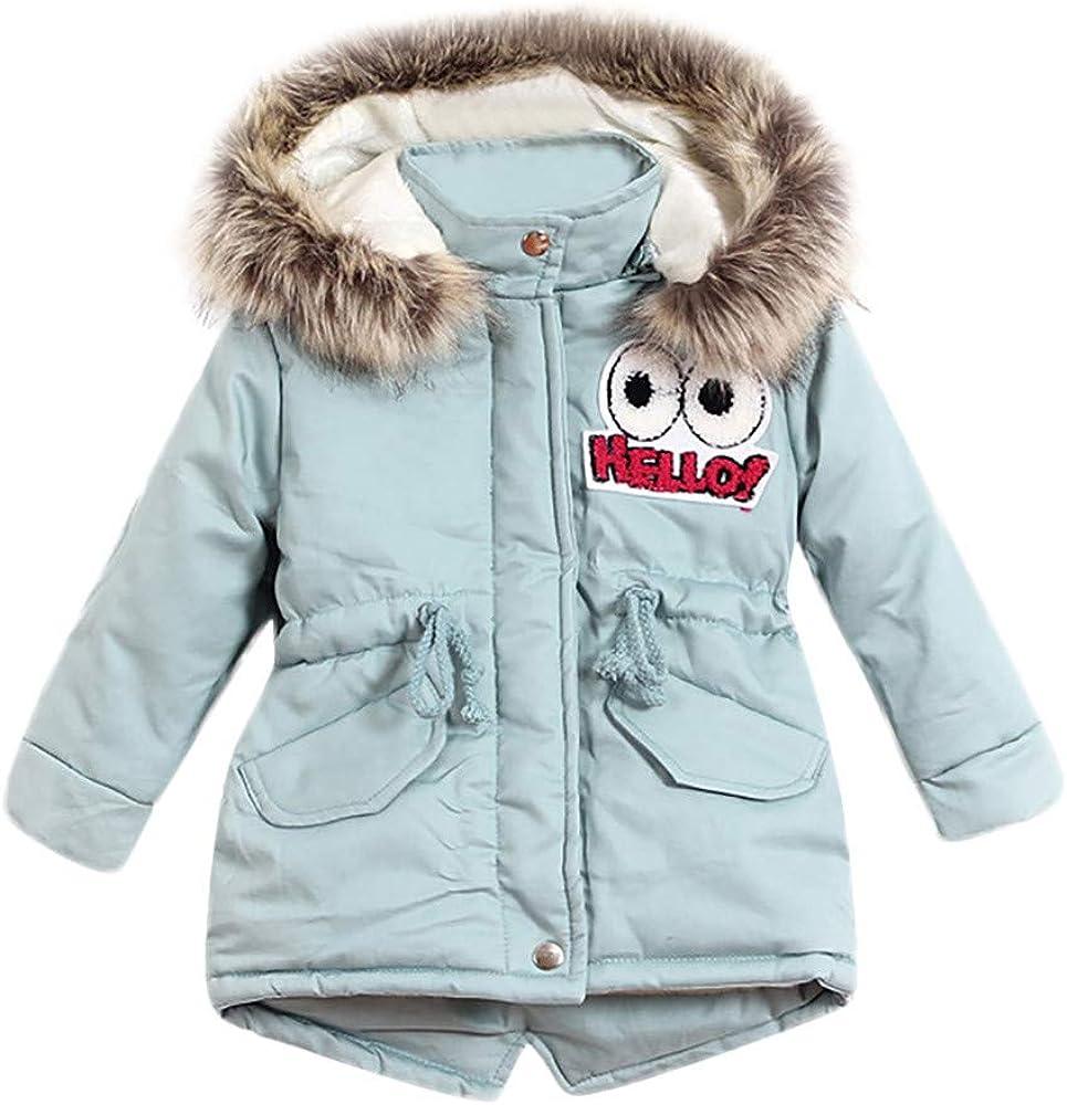 Girls Coats Winter Jackets For Girls Coat Children Clothing Girls Jackets Long Sleeve Kids Outerwear 4 5 6 7 8 9 10 11 12 Toddler Boy Winter Jacket