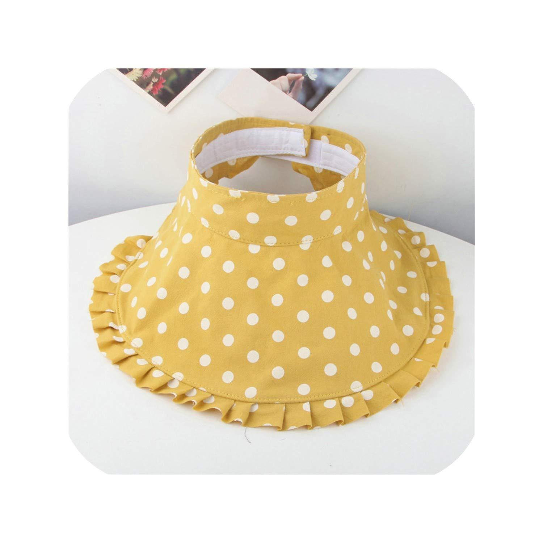 Ruffles Sunhat Bucket Cap Baby Kids Girls Boys Dot Print