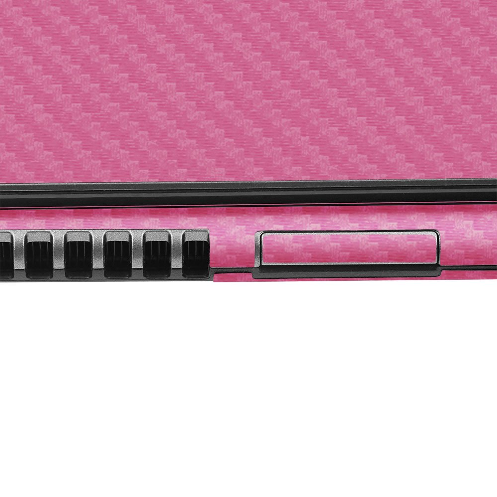 Skinomi Carbon Fiber Series Film Protector with TechSkin Screen Protector for Acer Chromebook 11.6 C720 - Pink by Skinomi (Image #8)