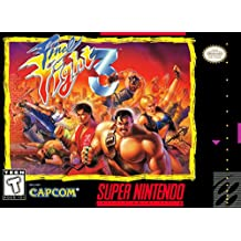 Final Fight 3 (Super Nintendo, SNES) - Reproduction Game Cartridge with Custom Miniature Replica Box