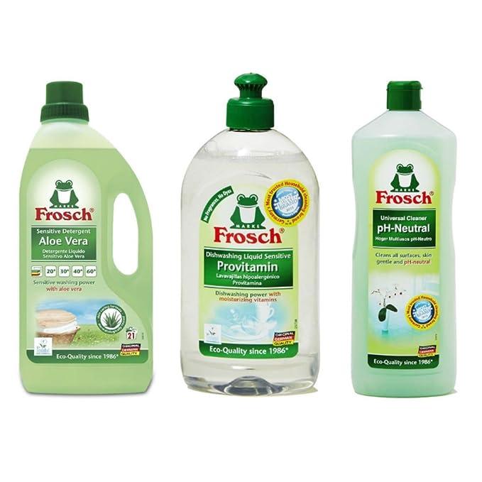 Frosch limpieza suave variedad Pack (Pack de 3): Amazon.es: Hogar