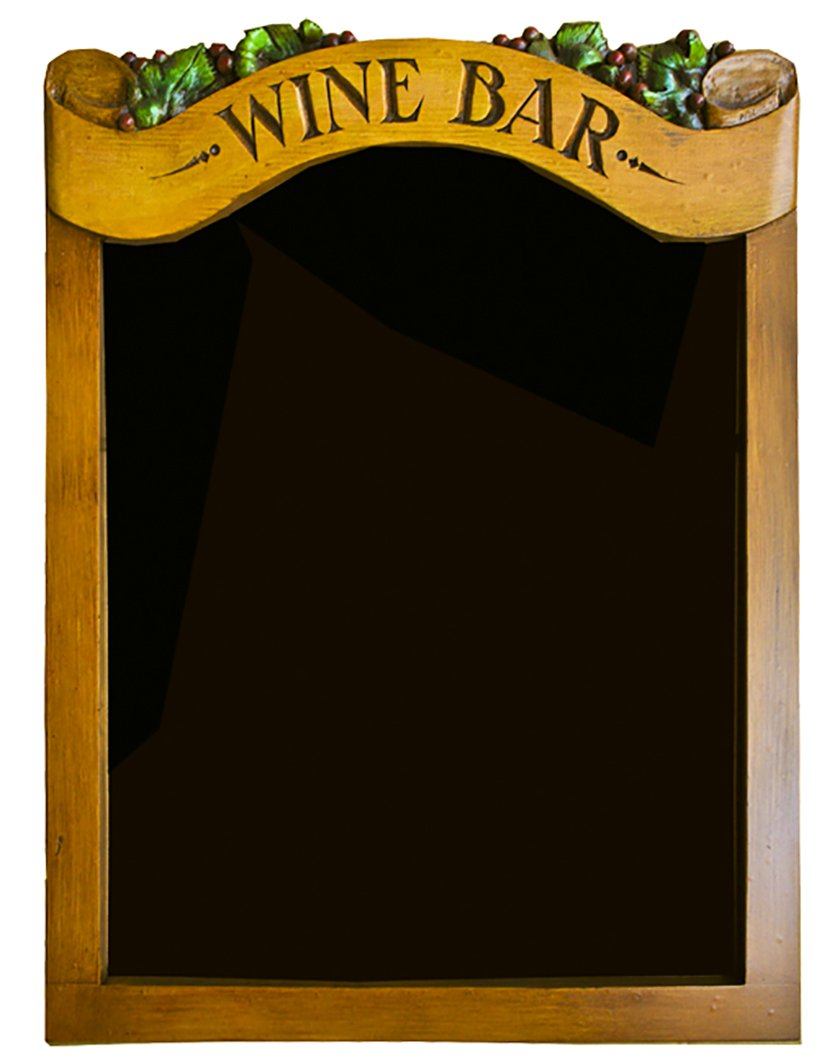 Wine Bar chalkboard and Menu Board