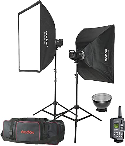 GODOX MS300 600W Studio Strobe Kit