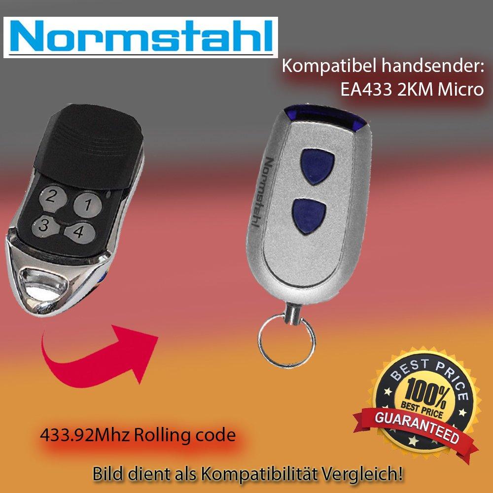 NORMSTAHL RCU 433-2 Kompatibel Handsender ersatz,Antriebe