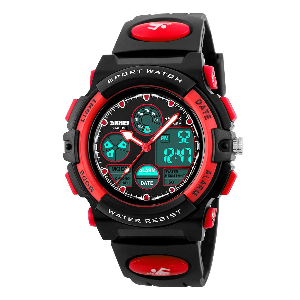 ATIMO Gifts for Boys Girls Age 5-15, Digital Watch Birthday Gift for 6-16 Year Old Boy Girl Kids Present for 5-14 Year Old Boys Sports Watch