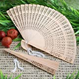 Sandalwood Fan Favors - 100 count