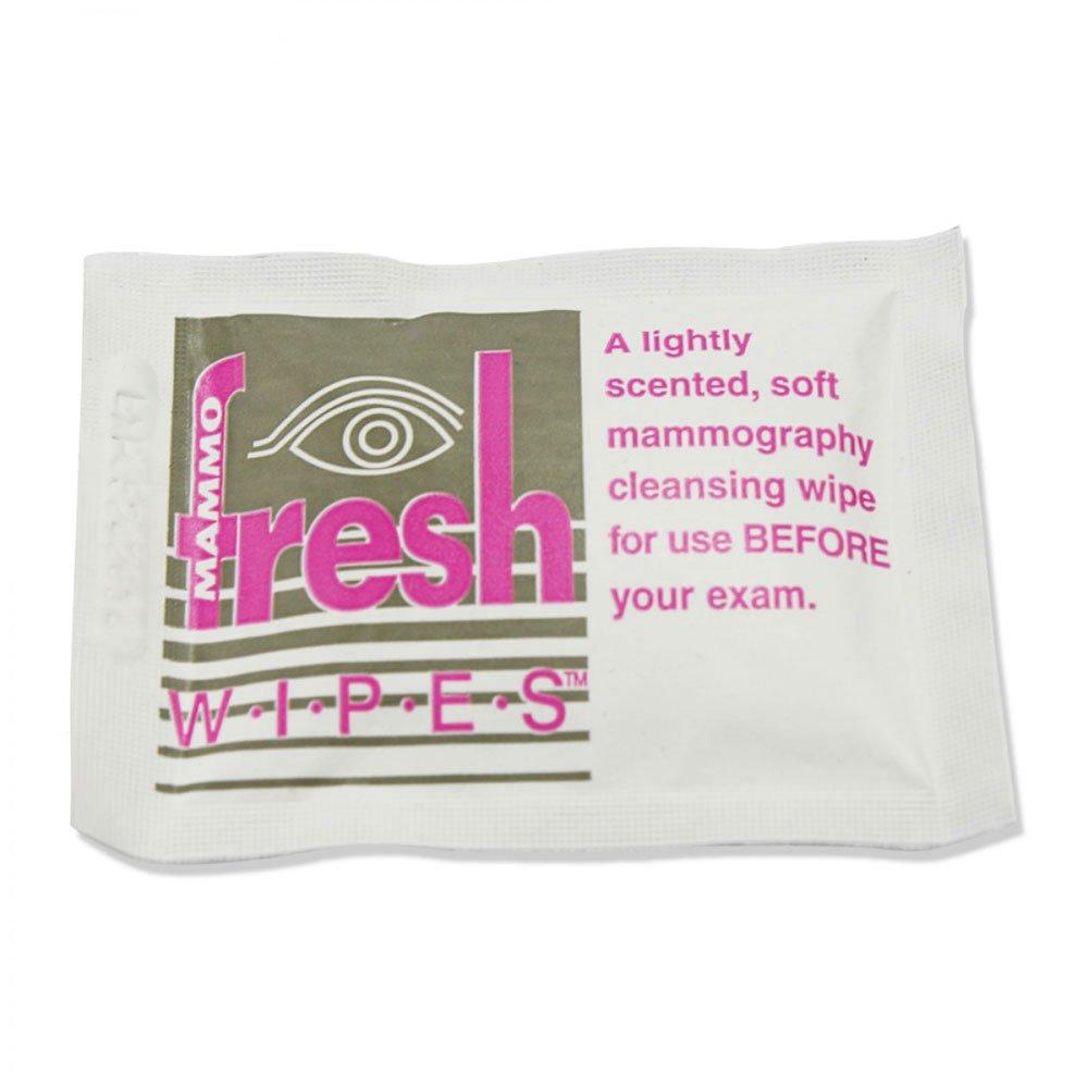 FRESHWIPES MAMWIPE Mammography Patient Wipe, 6'' x 7-1/4'' (Pack of 500)
