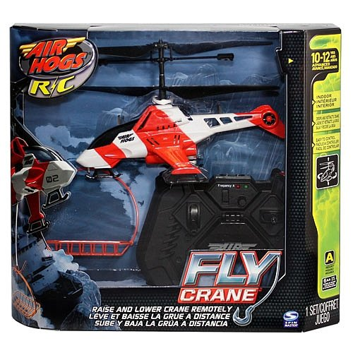 Air Hogs R/C Fly Crane Helicopter [Channel - Hogs Helicopter Air