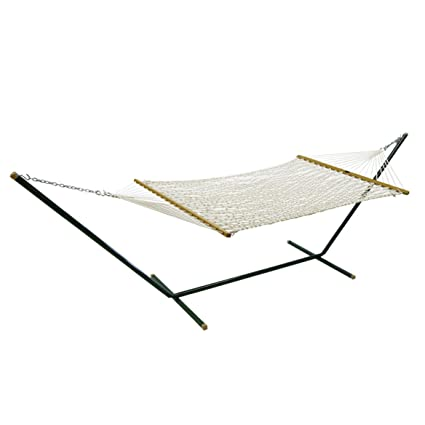 with stand polyester combo and vivere hammock double
