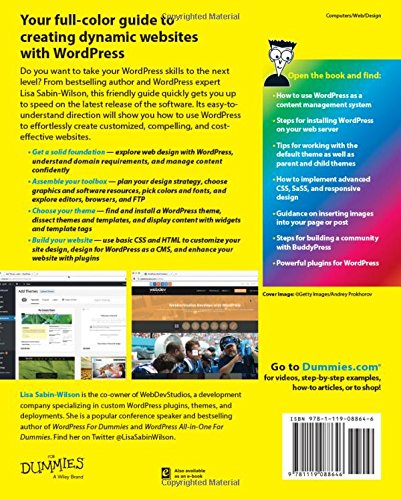 61pDnYgs8ML - WordPress Web Design For Dummies
