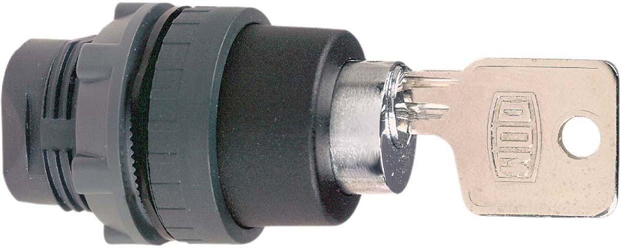 Schneider ZB5AFDE02 Drucktaster, Schlüsselbetätigung Ø22mit Drehentriegelung Dom LU2 pic - mss 41 02