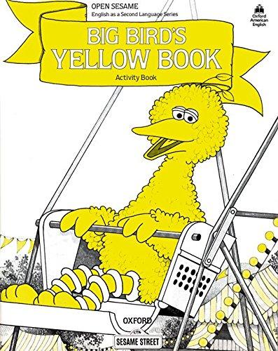 Open Sesame: Big Bird's Yellow Book: Activity Book