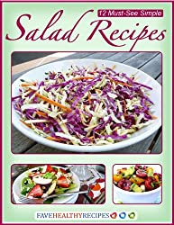12 Must-See Simple Salad Recipes (English Edition)