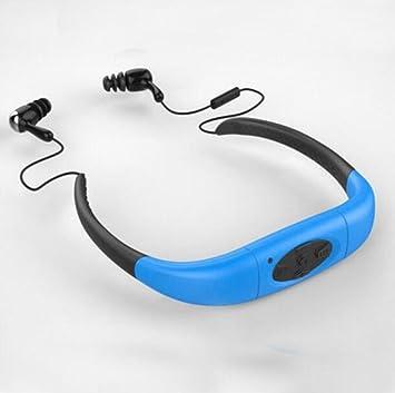 DANDANJIE Auricular Natación Impermeable Reproductor de Auriculares MP3 Deportes Running Fitness Buceo Natación Auriculares Auriculares Inalámbricos