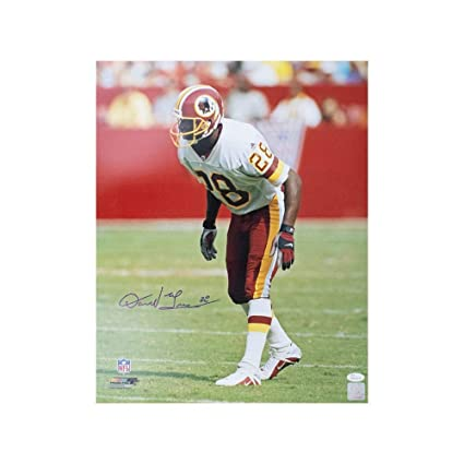 Image Unavailable. Image not available for. Color  Darrell Green  Autographed Washington Redskins ... 22ba0b233