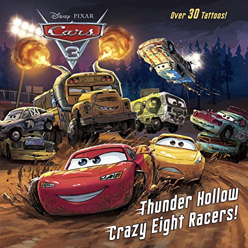 Thunder Hollow Crazy Eight Racers! (Cars 3)