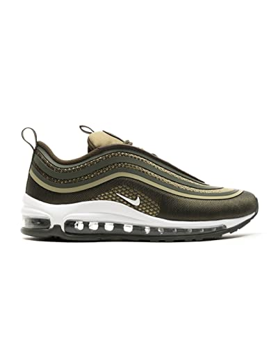 11dd54d649ee Nike Damen Schuhe Air Max 97 Ul 17 (Gs) 917998-300 grün US 5  Amazon ...