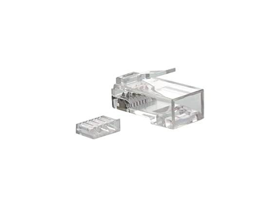 Amazon.com: Networx CAT6 RJ45 Modular Conector con carga ...