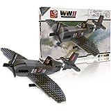 Sluban SlubanM38-70071 WW II Spitfire Building Bricks Set