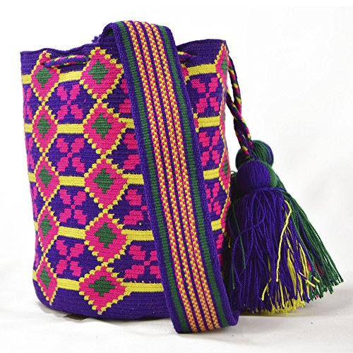 3266 Medium Bag Premium Wayuu Mochila wcgB87UTq