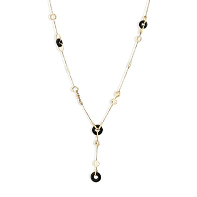 Buy Mia by Tanishq 14KT Yellow Gold, Diamond and Onyx