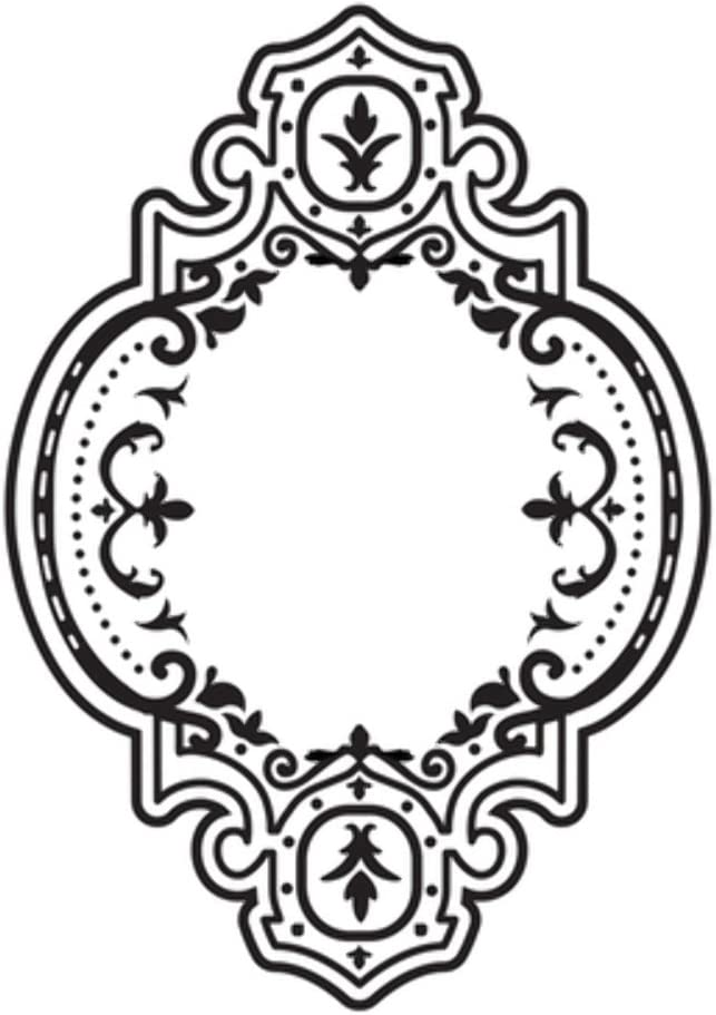 Kaisercraft Baroque Frame Embossing Folder 4X6
