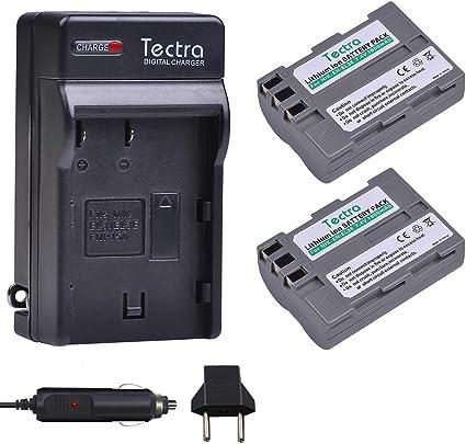 Amazon.com: Tectra EN-EL3E - Juego de 2 baterías y cargador ...
