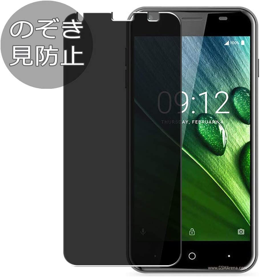 Synvy Privacy Screen Protector Film for Acer Liquid Z6 Anti Spy Protective Protectors [Not Tempered Glass]