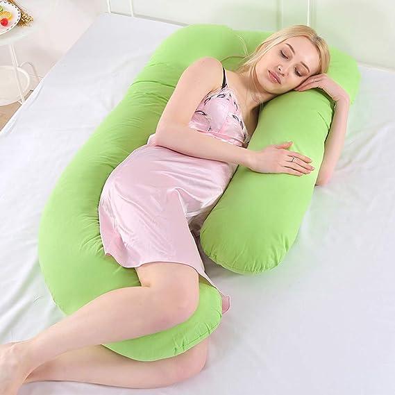 Amazon.com: Binory - Almohada de embarazo en forma de U ...