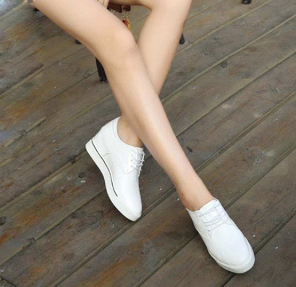 Ms. primavera e l'autunno signora signora signora scarpe scarpe ascensore scarpe pizzo , US6 / EU36 / UK4 / CN36 - be5432