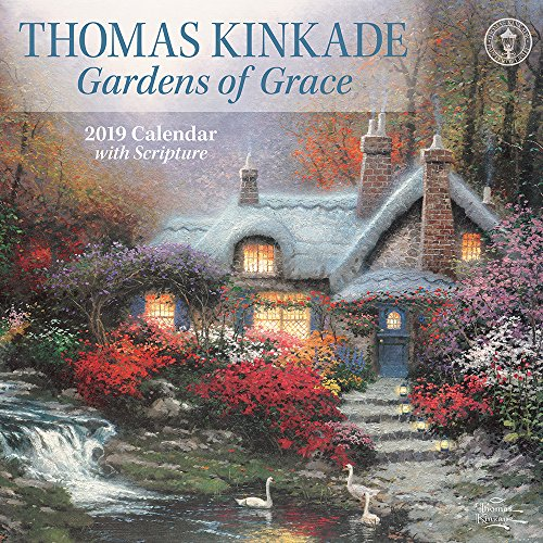 Thomas Kinkade Gardens of Grace 2019 Wall (Thomas Kinkade Garden)