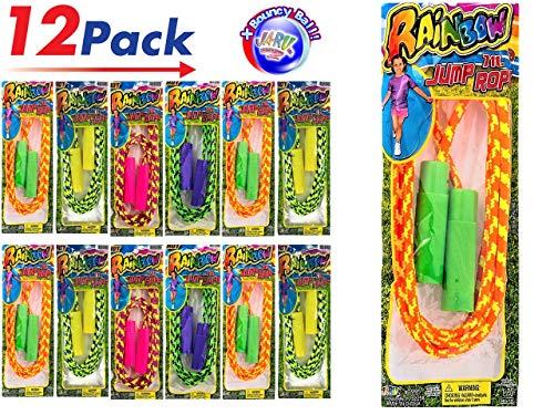 Jump Rope 7ft (Package of 12) by JARU. 1995-12 -