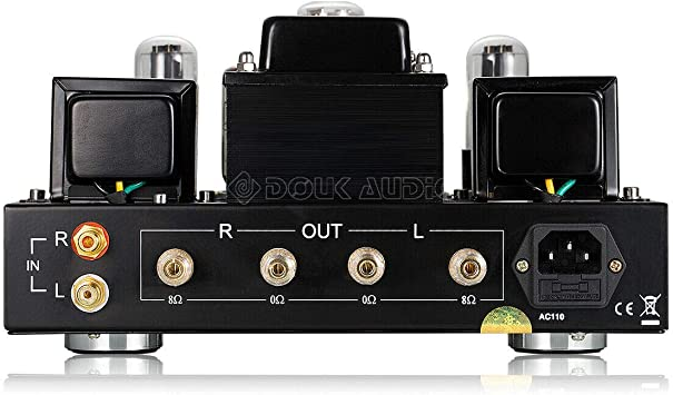 Nobsound 6P1 6.8W 2 Amplificador de Potencia de Tubo de vacío; estéreo Clase A de Audio de un Solo Extremo amperio Hecho a Mano (sin función de Amplificador de Auriculares): Amazon.es: Electrónica