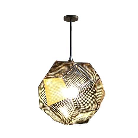 Amazon.com: Jaula de metal industrial E26, lámpara colgante ...