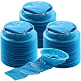 Vomit Bags, YGDZ 45 Pack Barf Bags Blue Emesis Bags Disposable Car Nausea Bags for Travel Motion, 1000ml