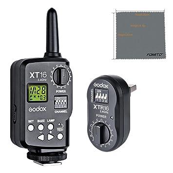 Fomito Godox xt-16 XT16 transmisor de pieza de repuesto para disparador de flash inalámbrico