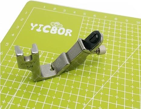 yicbor elástico hilo pie S537 para Brother Janome Juki industria ...