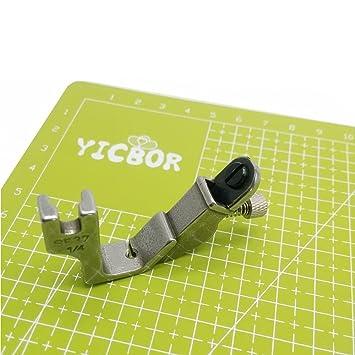 yicbor elástico hilo pie S537 para Brother Janome Juki industria máquina de coser de tensión ajustable: Amazon.es: Juguetes y juegos