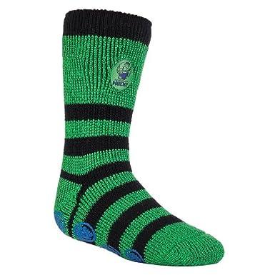 d49ba8ed1 1 Pair Mens Ladies Kids Heat Holders Thermal Licensed Character Slipper  Grip Socks 4 sizes: Amazon.co.uk: Clothing