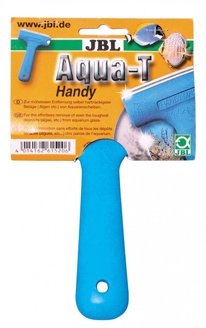 JBL Aqua-T - Limpiacristales con hoja de acero inoxidable 61524