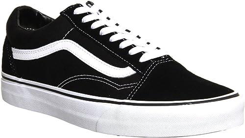 Vans Old Skool Black - 8.5 UK: Amazon