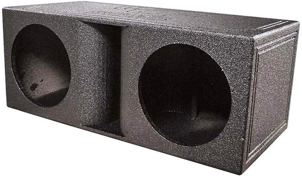 Qpower Qbomb Caja de subwoofer con Doble ventilación y Acabado con Forro para Cama: Amazon.es: Electrónica