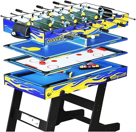 4-en-1 multi-función plegable mesa de billar ping pong mesa de ...