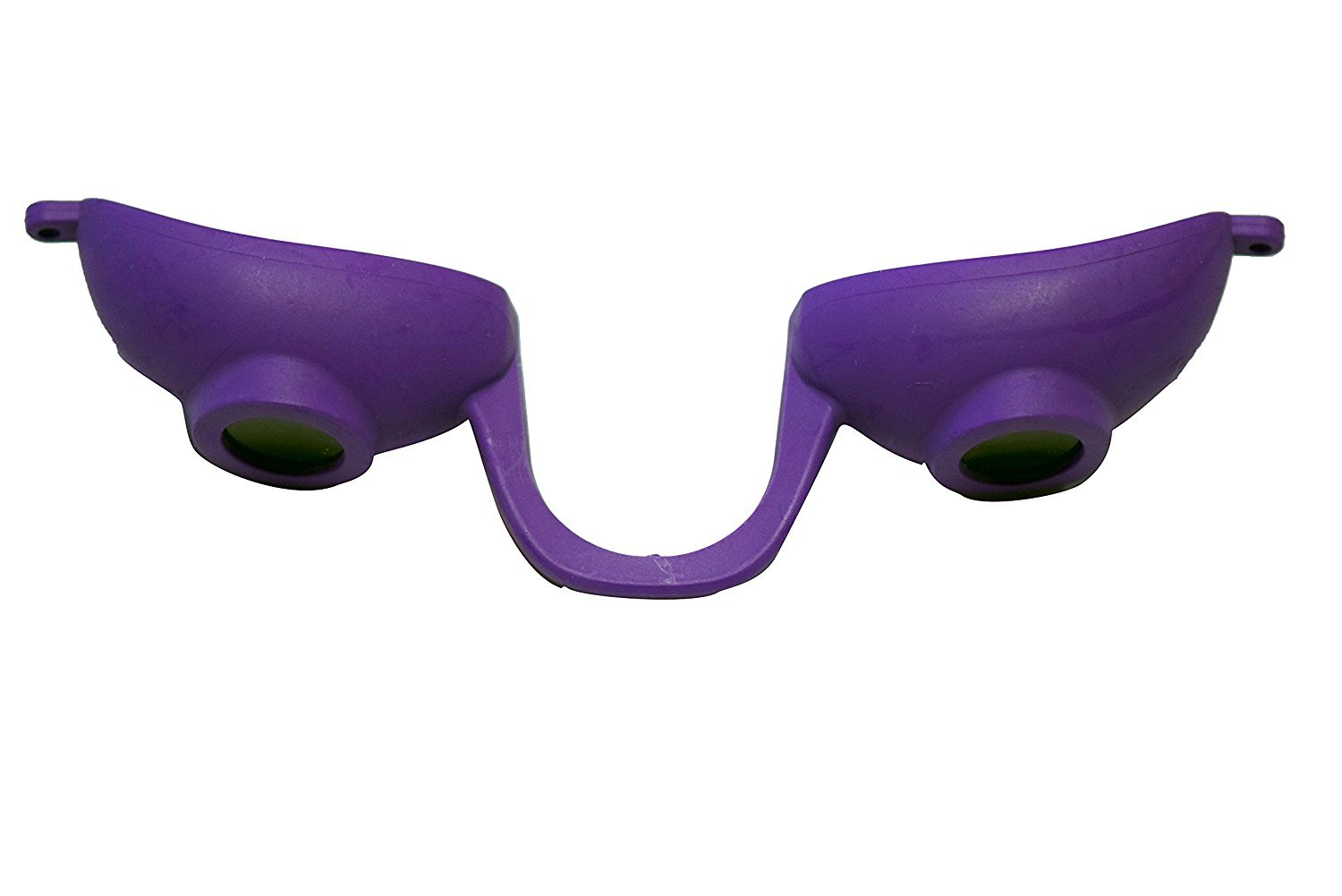 Super Sunnies Flexible Tanning Bed Goggles Eye Protection UV Glasses (Purple)