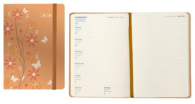 Idena 11419 - Agenda 2020, A5, 1 unidad, color naranja ...