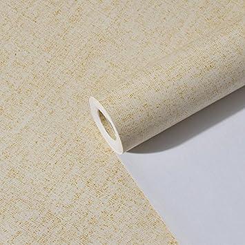 JSLCR Moderne minimalistische Zimmer Sand grau einfarbig Tapeten ...
